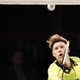 Anders Antonsen vandt sikkert sin kamp i EM-finalen mod Rusland. (arkiv) Scanpix/Bax Lindhardt