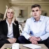 Pernille Vermund og Peter Seier Christensen har stiftet et nyt borgerligt parti.