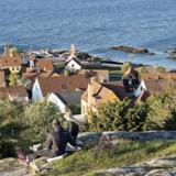 Rejser til Bornholm skal blive billigere i 2018. Det varsler Molslinjen, som har tegnet en tiårig kontrakt med Transport-, Bygnings- og Boligministeriet om ruter til solskinsøen. Arkivfoto.