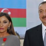 Præsident Ilham Alijev og konen Mehriban Alijev. I år blev Mehriban tillige opsigtsvækkende udnævnt til vicepræsident.
