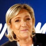 Marine Le Pen har længe ment, at Frankrig bør droppe euroen.