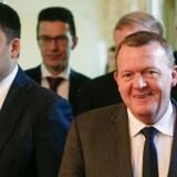 Statsministeren besøgte sin ukrainske kollega Volodymyr Hrojsman i Ukraine sidste år. Tirsdag og onsdag kommer Hrojsman til København for at deltage i en reformkonference.