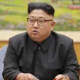 Den nordkoreanske leder, Kim Jong-un, har optrappet landets missiltest, siden han kom til magten. Scanpix/Str