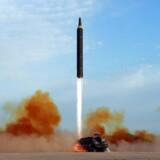 Affyring af missil.