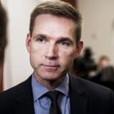 Dansk Folkepartis leder Kristian Thulesen Dahl på Christiansborg d. 6. december 2016