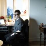 Thomas Telner, der flittigt deltager i online-debatter med kontroversielle udtalelser, er her fotograferet i sit hjem i Næstved. Nu risikerer at miste sit medlemsskan i Nye Borgerlige. (Arkivfoto)