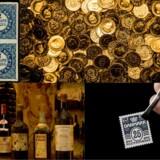 Hvert år udgiver Credit Suisse en »Global årbog for investeringsafkast«, og 2018 havde en interessant tilskrivning: Aktiver som frimærker, vin og violiner giver baghjul til ædelmetaller og diamanter. Men gør det dem til en god investering? (Foto: Scanpix / Thomas Høiland Auktioner)