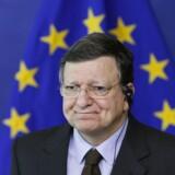 EU-Kommissionens præsident, Jose Manuel Barroso.