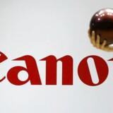 Canon står til en kæmpe bøde for at have ført EUs konkurrencemyndigheder bag lyset. Arkivfoto: Thomas Peter, Reuters/Scanpix