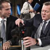ARKIVFOTO 2015 Venstres landsmøde, statsminister Lars Løkke Rasmussen (th) og næstformand Kristian Jensen (Foto: Henning Bagger/Scanpix 2016)