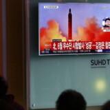 Arkivfoto. En ny prøveaffyring af et missil fra Nordkorea onsdag gik galt, oplyser myndighederne i Sydkorea og USA.
