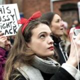 Women's March i hele verden - og i København Fra den Amerikanske Ambassade til Christiansborg