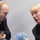 Vladimir Putin og Donald Trump mødtes under G20-mødet i Hamborg sidste år, men de to har ikke været på officielt besøg hos hinanden. Det ønsker Kreml nu at råde bod på.