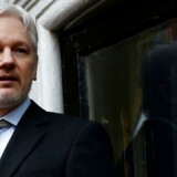 Arkivfoto. Julian Assange har anmodet retten i London om at få lov til forlade sit ambassadeskjul uden anholdelse.