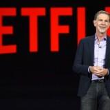 Netflixs administrerende direktør, Reed Hastings.