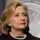Arkivfoto. Demokraten Hillary Clinton vil på søndag offentliggøre, at hun stiller op som præsidentkandidat for Demokraterne i USA.