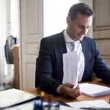 Erhvervsminister Rasmus Jarlov (K) har tidligere kaldt Danske Banks hvidvasksag for en »skamplet«.