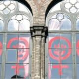 Dannerhuset i Nansensgade i København indeholder et krisecenter for voldsramte kvinder og deres børn.
