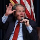 Den tidligere amerikanske præsident George W. Bush.