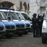 Politiet i Berlin har anholdt en tysk mand.