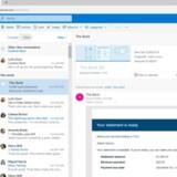 Google har lige opdateret sin Gmail-tjeneste. Nu er turen kommet til Microsofts Outlook. Foto: Microsoft
