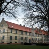 ARKIVFOTO. Østjyllands Politi affyrede varselsskud ved anholdelse af en mistænkt ved det psykiatriske hospital i Risskov ved Aarhus.