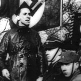 Hitlers propagandaminister, Joseph Goebbels (billedet), charmerede Brunhilde Pomselm med sit »elskværdige væsen. En ny film skildrer Pomselms år i tjeneste som Goebbels sekretær.