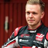 Kevin Magnussen tester i denne og næste uge Haas-teamets Formel 1-racer i Barcelona. Scanpix/Jose Jordan