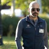 Dara Khosrowshahi, der er ny topchef for Uber, tog tirsdag aften afsked med verdens største online-rejsebureau, Expedia.