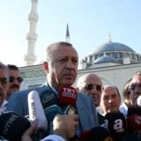 Den tyrkiske præsident vil tale under G20-topmøde i Tyskland. Glem det, siger den tyske regering.
