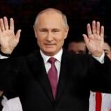 Præsident Vladimir Putin vil lade russiske atleter deltage ved vinter-OL, hvis nogle atleter får lov til det af IOC. Reuters/Sergei Karpukhin/arkiv