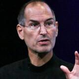 Apple-topchef Steve Jobs har sat sig ved tasterne. Foto: Scanpix