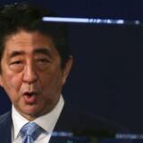 Japans premierminister, Shinzo Abe. (Arkivfot)