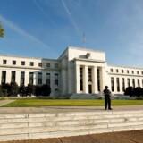 Den amerikanske centralbank Federal Reserve i Washington.