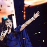 Det var sangerinden Jamala, der sidste år sang det Europæiske Melodigrandprix til Ukraine. Nu af forberedelserne til dette års show lammet af intern uro. / AFP PHOTO / JONATHAN NACKSTRAND