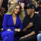 Musik streamingtjenesten Tidal er ejet af den amerikanske rapper Jay-Z (ses til højre). Scanpix/Jason Miller