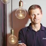 Danfoss' topchef, Kim Fausing, i koncernens innovationshub i Berlin. Foto: Scanpix