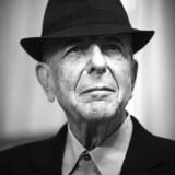 Canadiske Leonard Cohen er på sin nye plade ude for at gøre regnskabet op og rydde ud - og komme overens med døden. AFP PHOTO / JOEL SAGET