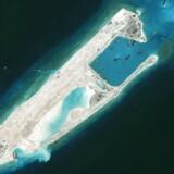 De kunstige øer i Det Sydkinesiske Hav udgør en stigende militær trussel i området. Kineserne har nu udbygget en række øer og forsynet dem med missiler.