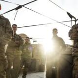 Arkivfoto. Hverken Donald Trumps dekret eller hans bifald af tortur får Danmarks regering til at overveje at trække danske specialstyrker tilbage fra landjorden i Irak og Syrien.