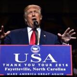 USA's kommende præsident, Donald Trump, blev onsdag udnævnt som årets person af Time.