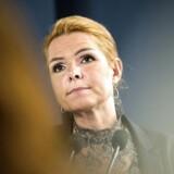 »Vores stramninger har helt klart virket,« siger udlændingeminister Inger Støjberg (V) med henvisning til regeringens ialt 40 udlændingestramninger.