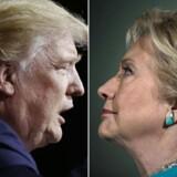 Det giver slet ingen mening at begynde at tælle stemmer fra præsidentvalget igen, mener Donald Trump.