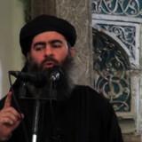 Hvis man ligger inde med oplysninger om manden på billedet, Islamisk Stat-lederen Abu Bakr al-Baghdadi, så udlover USA nu en dusør på 25 millioner dollar. Arkivfoto Scanpix/-