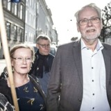 Formand for FOA Dennis Kristensen før forhandlinger i Forligsinstitutionen i København, onsdag den 11. april 2018.