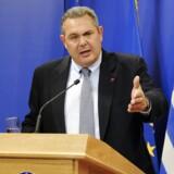 Grækenlands forsvarsminister, Panos Kammenos.