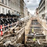 Vejarbejde i København. Der blev gravet mere i Københavns veje i 2016 i forhold til året før.