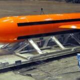 GBU-43 er det tekniske navn for bomben, der også bliver kaldt »moderen af alle bomber«