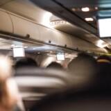 Stemning fra flykabine ombord på en Air Berlin flyvning.
