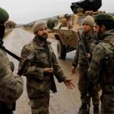 Medlemmer af Det Frie Syriske Politi
